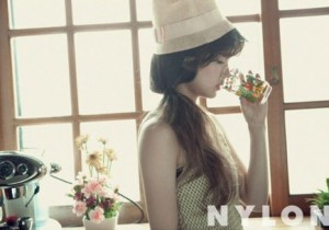 Yoon Seung Ah of 'The Moon that Embraces the Sun' in NYLON Magazine