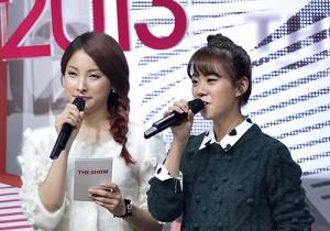 KARA's Park Gyuri & Han Seungyeon