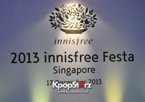 Popular Top Korean Actor Lee Min Ho Shares His Beauty Tips At innisfree Festa Press Conference 2013 In Singapore, Reveals
