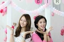f(x)'s Krystal & Kim Ji Won's Photo Shoot