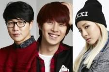 Sung Si Kyung-2NE1 Dara-Super Junior Heechul to be MC's for SBS 'Gayo Daejun'