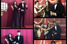 Park Shin Hye-Kim Woo Bin Win Popularity Award at China '2013 Anhui TV Drama Awards'
