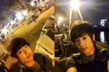 SS501 Kim Kyu Jong Having Dinner in Thailand