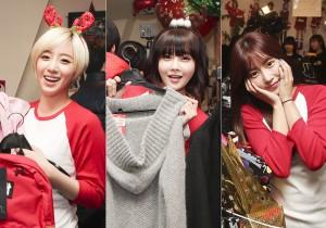 Ham Eun Jung, Jeon Boram, Park So Yeon