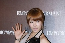 Tiffany at Opening Night Party for Emporio Armani