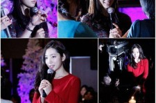 Park Shin Hye Holds a Christmas Party in Japan with Fans