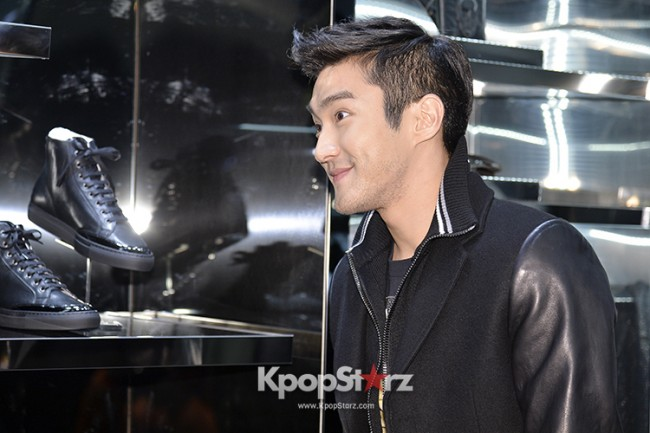 Super Junior's Choi Siwonkey=>13 count17