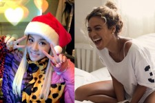 2NE1's Dara and Beyonce