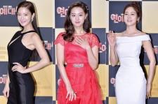 Clara, Kim Ji Won and Sung Yu Ri