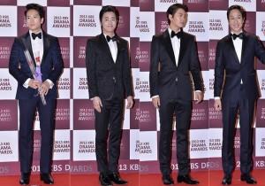 Ji Sung, Jo Jung Suk, Joo Won and Jung Woo