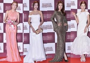 Lee Da Hee, Lee So Yeon, Lee Tae Ran and Lee Yoon Ji