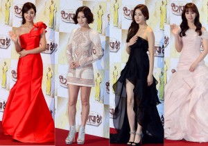 A Pink's Jung Eun Ji, Kang Sora, Kim Ji Won and Kim Sung Ryong