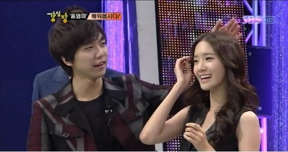 Yoona & Lee Seung Gikey=>3 count13