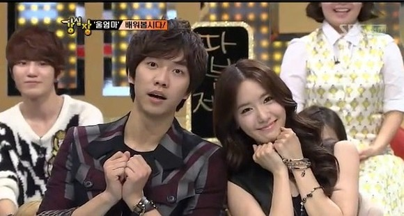 Yoona & Lee Seung Gikey=>5 count13