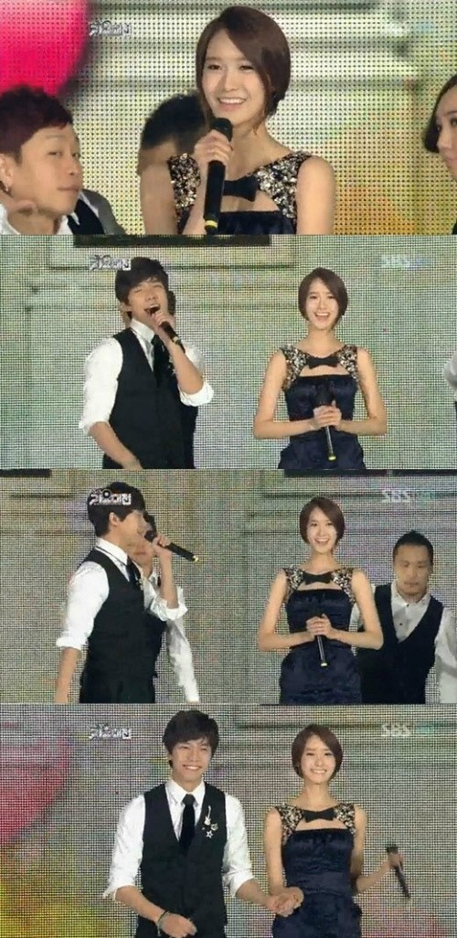 Yoona & Lee Seung Gikey=>8 count13