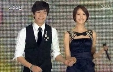 Yoona & Lee Seung Gikey=>11 count13