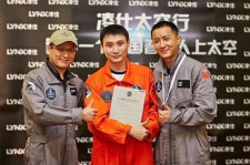 Is Hangeng ready to go from singer to actor to astronaut?