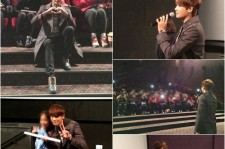 Park Hyung Sik Stage Greeting for 'Justin and the Knights of Valor'