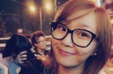 Sistar member Hyorin in Hong Kong