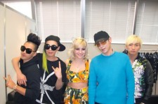 British artist Pixie Lott with Big Bang