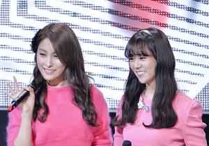 Kara′s Park Gyuri and Han Seung Yeon