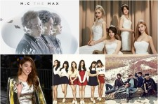 MC the Max, Girl's Day vs A Pink, B1A4 - Who Will Take Over Music Charts?