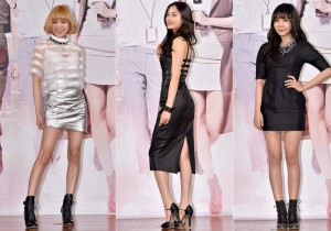 After School's Lizzy, Nana and Raina at Beauty Bible Press Conference