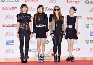 2NE1(CL, Sandara Park, Park Bom, Minzy) at the 28th Golden Disk Awards