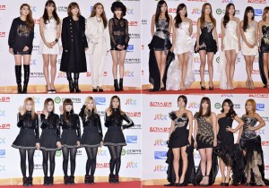 4Minute, A Pink, Crayon Pop and Sistar at the 28th Golden Disk Awards
