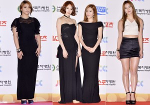 Ailee, Kim Yerim and Davichi at the 28th Golden Disk Awards