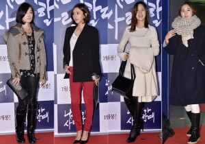 Oh Yun Soo, Son Dam Bi, Sung Yu Ri and U-IE Attended the VIP Premiere of Upcoming Film 'When A Man Loves A Woman'