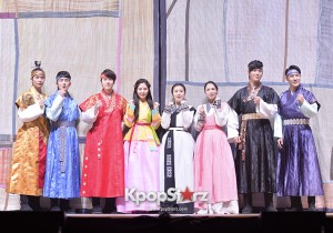 Press Call of 'The Moon That Embraces the Sun' Musical