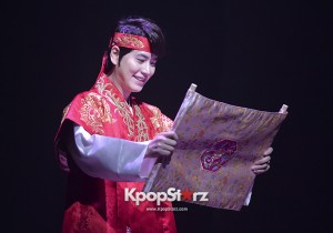 Super Junior's Kyuhyun at the Press Call of 'The Moon That Embraces the Sun' Musical
