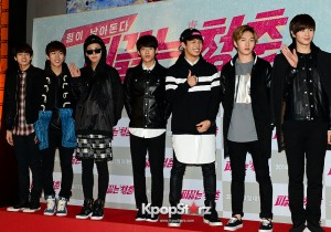 BtoB at the VIP Premiere of Upcoming Film 'Blood Boiling Youth'