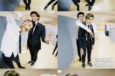 exo pictures from golden disk awards waiting room