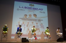 Nega Network Boys Lunafly And LC9 Show The Lovable Side Of Them To The Media In Indonesia For 'LUKIE BEAT Live in Concert' [PHOTOS]