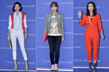 Jang Yoon Ju, Kim Ji Won and Kim Nam Joo at Tommy Hilfiger for Grand Opening Event