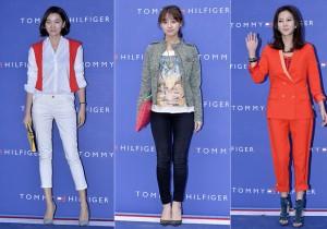 Jang Yoon Ju, Kim Ji Won and Kim Nam Joo at Tommy Hilfiger for Grand Opening Event