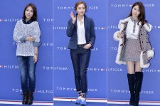 Tiny-G's Dohee, Lee Da Hee and Yoo In Na at Tommy Hilfiger for Grand Opening Event