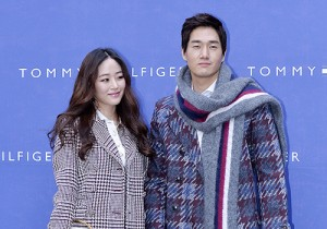 Kim Hyo Jin and Yoo Ji Tae at Tommy Hilfiger for Grand Opening Event