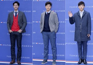 Lee Ki Woo, Ryu Jin and Son Ho Joon at Tommy Hilfiger for Grand Opening Event