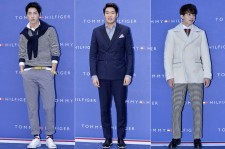 Hong Jong Hyun, Jung Gyu Woon and Lee Dong Woo at Tommy Hilfiger for Grand Opening