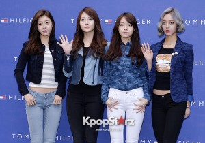 Girl's Day at Tommy Hilfiger for Grand Opening Event