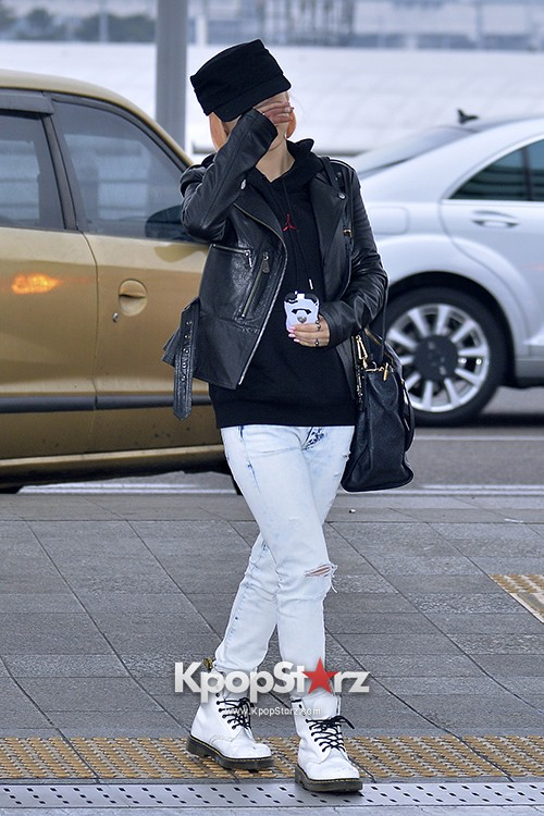 Miss A's Min at Incheon International Airport Departing to Hong Kongkey=>1 count21