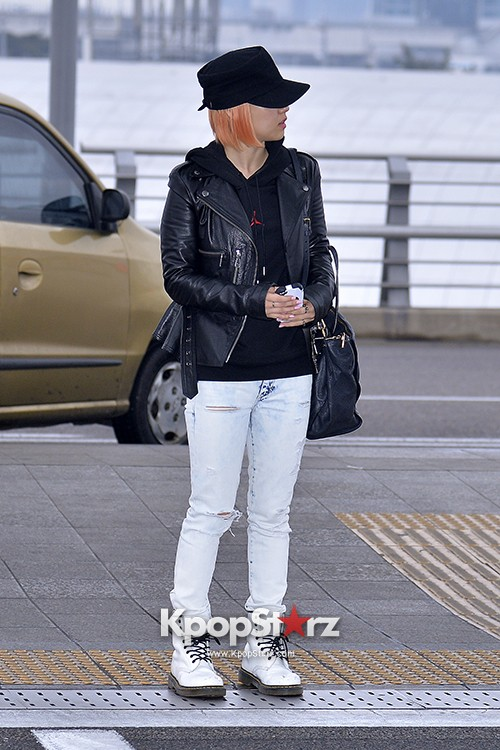 Miss A's Min at Incheon International Airport Departing to Hong Kongkey=>2 count21