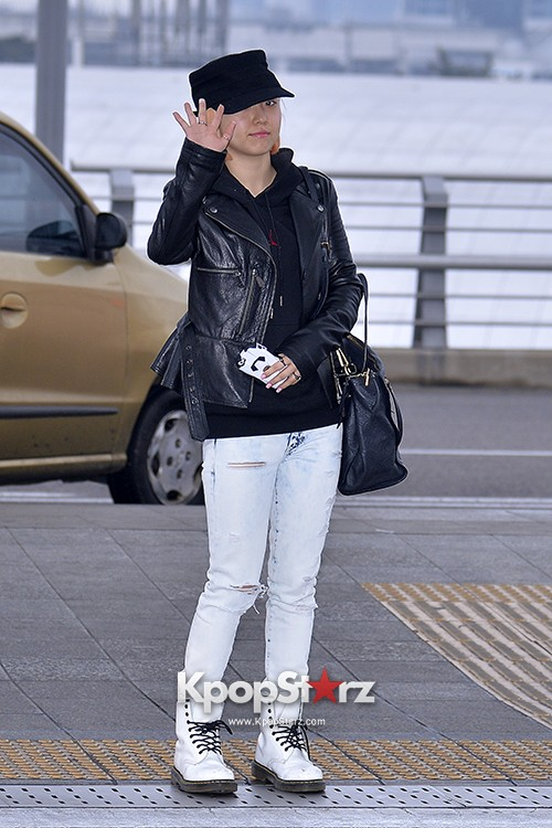 Miss A's Min at Incheon International Airport Departing to Hong Kongkey=>3 count21