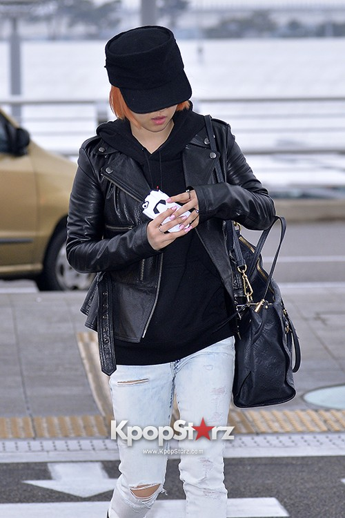 Miss A's Min at Incheon International Airport Departing to Hong Kongkey=>4 count21
