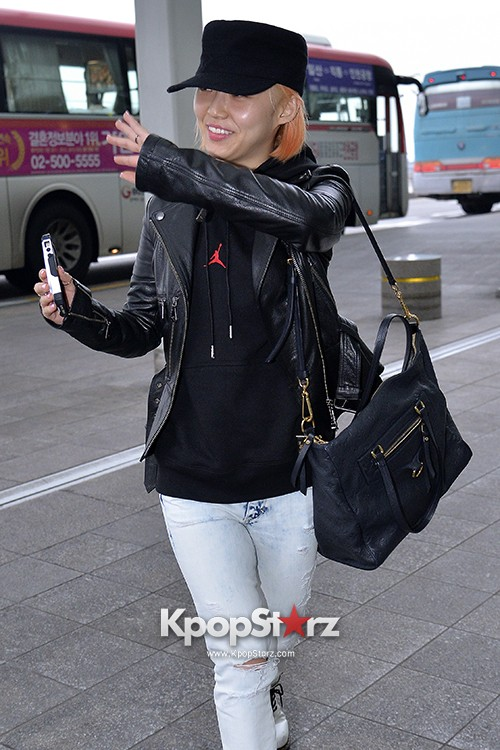 Miss A's Min at Incheon International Airport Departing to Hong Kongkey=>8 count21