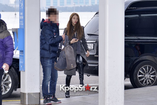 Miss A's Suzy at Incheon International Airport Departing to Hong Kongkey=>11 count21