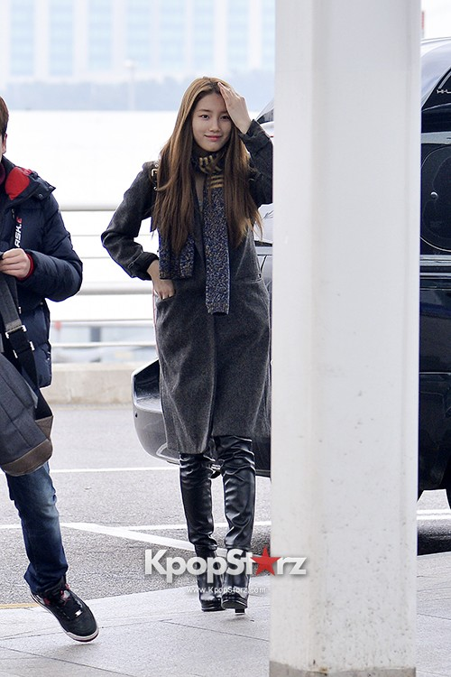 Miss A's Suzy at Incheon International Airport Departing to Hong Kongkey=>12 count21
